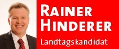Landtagskandidat Rainer Hinderer